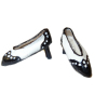 Dolls Cobbler Handcrafted Spectator Pumps Shoes