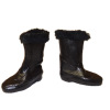 Ladies Winter Fur Edge Boots from The Dolls Cobbler