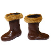 Ladies Winter Fur Trim Snow Boots from The Dolls Cobbler