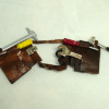 Dolls Cobbler Handcrafted Filled Double Leather Tool Belt