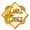 Handcrafted Wood Candle Corner Shop Sign