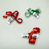 Ribbon Tied Sheet Music Christmas Tree Ornaments