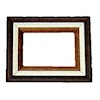 Handcrafted Tricolor Wood Gallery Picture Frame