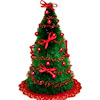 Compact Decorated Christmas Tree