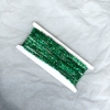 Sparkling Green Metallic Christmas Garland