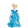 Porcelain Victorian Lady in Blue