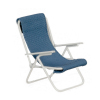 Metal Frame Comfy Garden Lawn Chair
