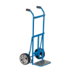Blue Metal Handtruck with Working Wheels