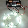 26 Working Cool White LED Christmas Lights Battery Operated