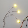 Three Warm White Mega LED Kit - Battery Operated