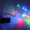 12 Brilliant Color LED Christmas Lights - Battery Operated