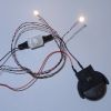 Warm White Nano LED Chip Light Set - Battery Operated
