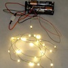 26 Working Warm White LED Christmas Lights Battery Operated