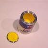 Filled Can of Yellow Paint with Removable Lid