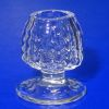 Handblown Ferenc Albert Olde English Hobnail Brandy Snifter