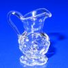Ferenc Albert Handblown Glass Diamond Thumbprint Creamer