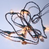Mini Working Christmas Lights Clear Battery Operated