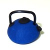 Handcrafted Small Asian Style Teapot - Blue