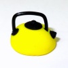 Handcrafted Small Asian Style Teapot - Yellow