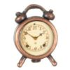 Dollhouse Non-Working Alarm Clock Copper