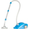 Vacuum Cleaner with Turning Wheels Flexible Hose and Plug