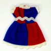 Wearable Older Girls Red and Blue Dress
