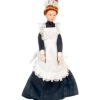 Victorian Maid or Housekeeper Doll in with Apron