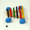 Colorful Wood Pull Xylophone