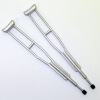 Miniature Medical Equipment - Handpainted Metal Crutches