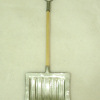 Metal Snow Shovel with Wood Handle