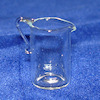 Miniature Handblown Glass Pitcher or Medical Lab Beaker