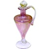 Tapered Cranberry Glass Decanter by Phil Grenyer