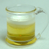 Filled Handblown Glass Mug of Beer by Phil Grenyer