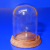 Small Glass Dome With Wood Base from Phil Grenyer