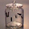 Hand Blown Phil Grenyer Jar of Leeches