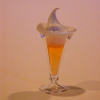 Phil Grenyer Knickerbocker Glory Sundae in Blown Glass