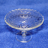 Phil Grenyer Footed Crystalline Glass Serving Bowl