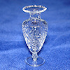 Phil Grenyer Tall Crystalline Glass Urn Vase