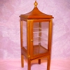 Asian Pagoda Style Display Case