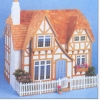 The Glencroft English Tudor Cottage Dollhouse Kit