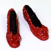 Handcrafted Ruby Slippers