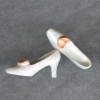 Sparkling White High Heel Party Shoes