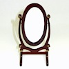 Heidi Ott Standing Wood Cheval Mirror