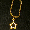 Heidi Ott Wearable Necklace - Large Golden Star