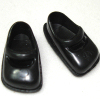 Wearable Heidi Ott Teen Black Mary Janes Shoes