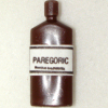 Mary Eccher Vintage Medical Paregoric Bottle
