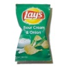 Lays Sour Cream and Onions Potato Chips Bag