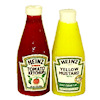 Miniature Ketchup and Mustard Picnic Bottle Set