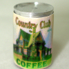 Mary Eccher Vintage Can Of Coffee