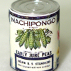 Mary Eccher Can of Vegetables - Peas